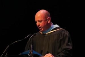 Mr. Pugh gives his Principal's Address
