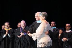 Mrs. Pardo recognized on her retirement