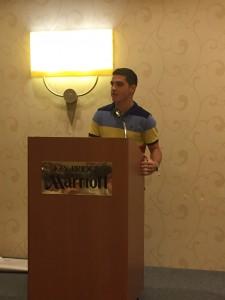 Antonio Ortiz addresses Close Up